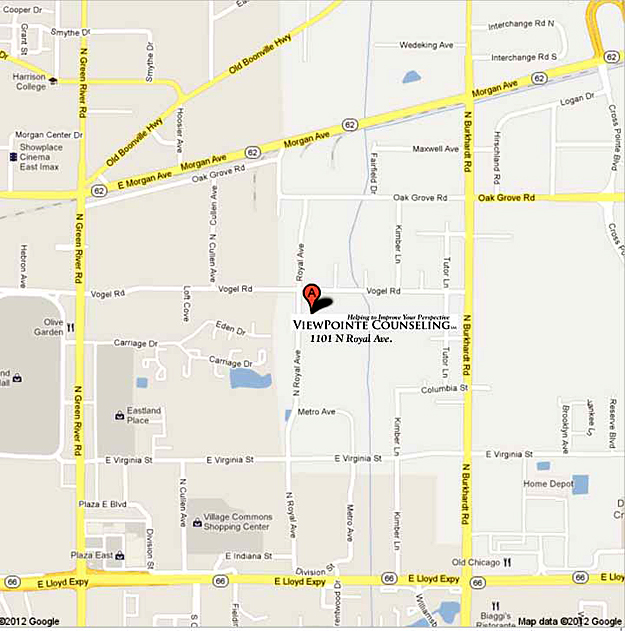 Viewpointe Counseling location map
